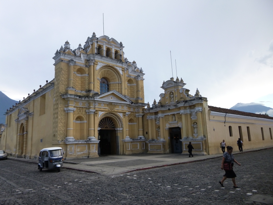 San Pedro Church - One Example of the Colonial Churches in Antigua