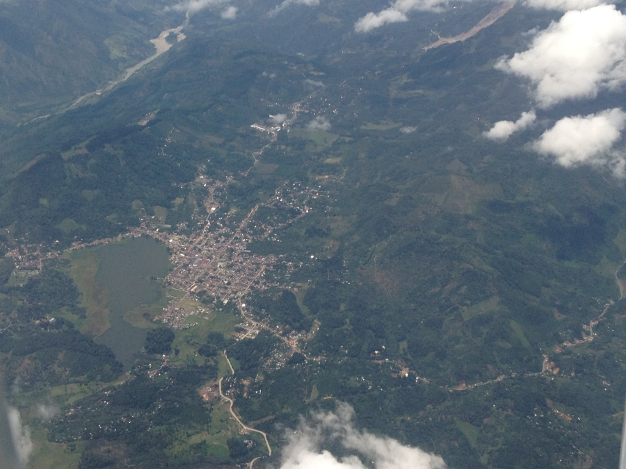 Guatemala City and Its Surrounding From The Air