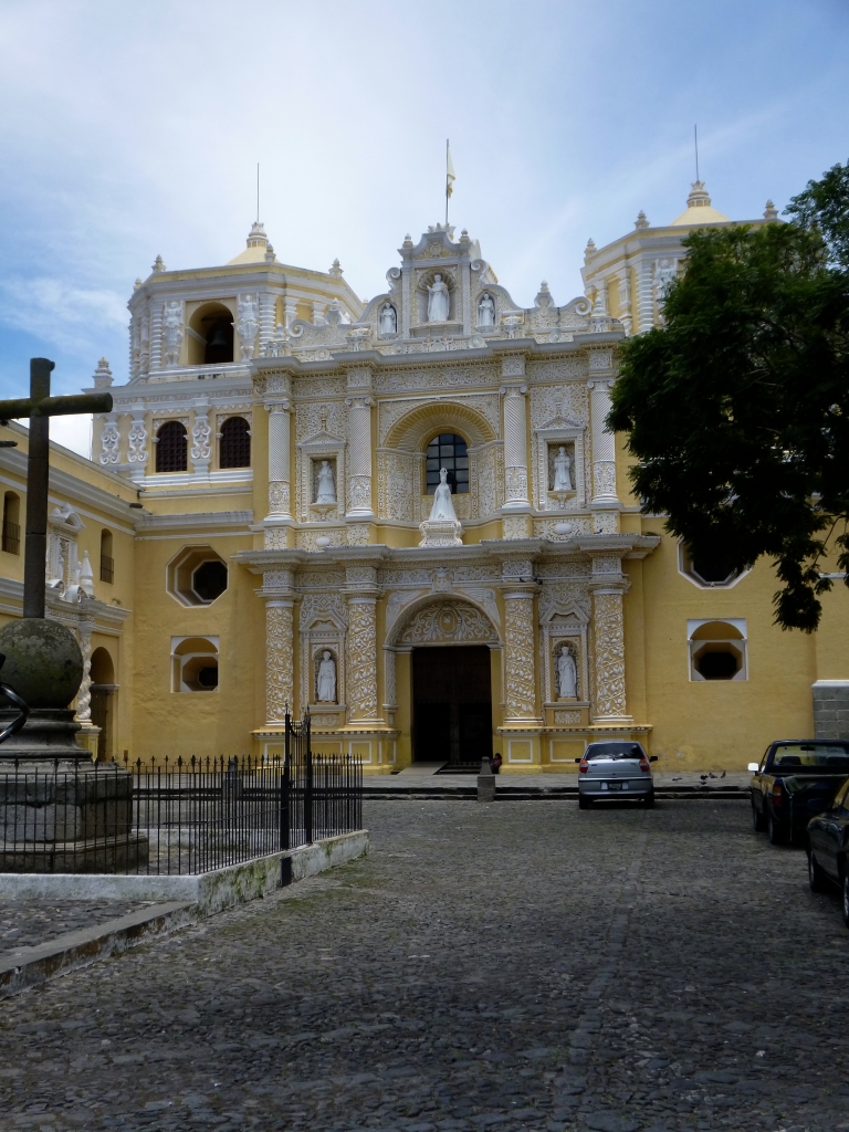 San Merced Church - The Most Beautiful Church in Guatemala