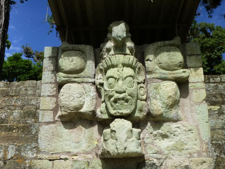 Mayan God in Copan