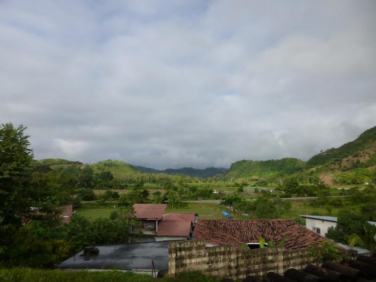 Breakfast View at La Casa de Cafe