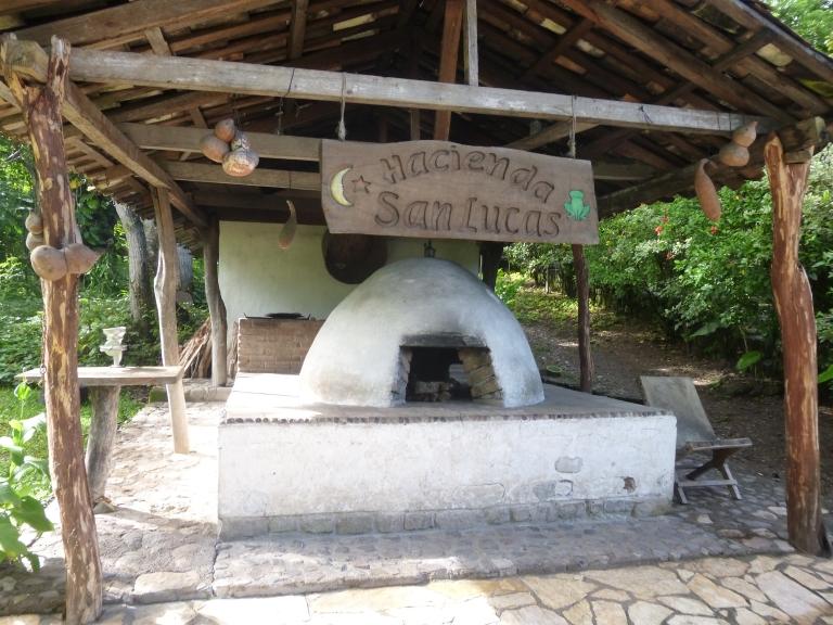 Entrance of Hacienda San Lucas