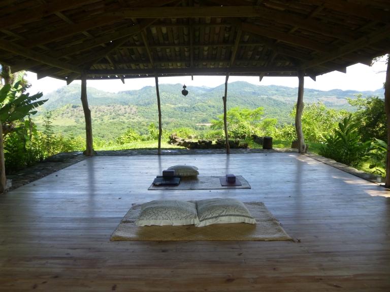 Yoga Pavillion at Hacienda San Lucas