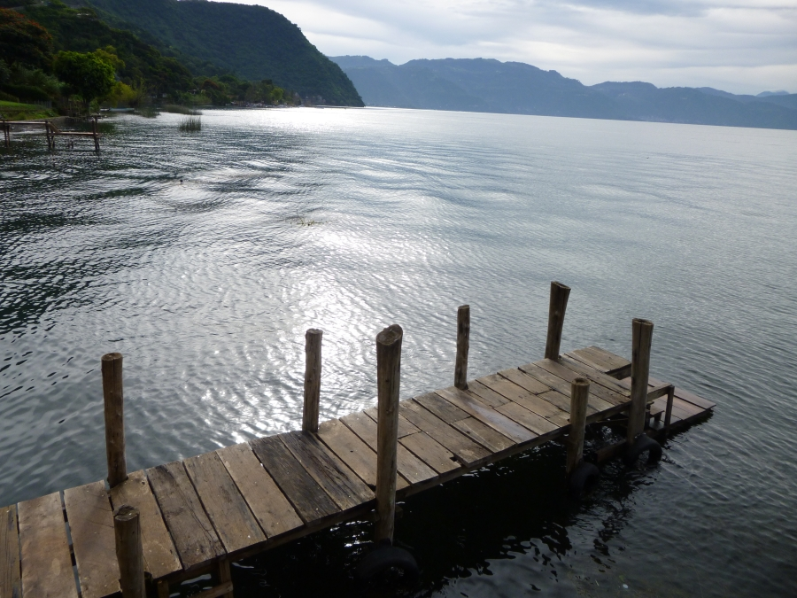 There Is Something Romantic About the Wooden Pier and the Calm Lake
