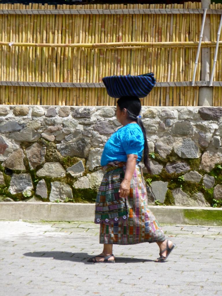 Strong Mayan Woman