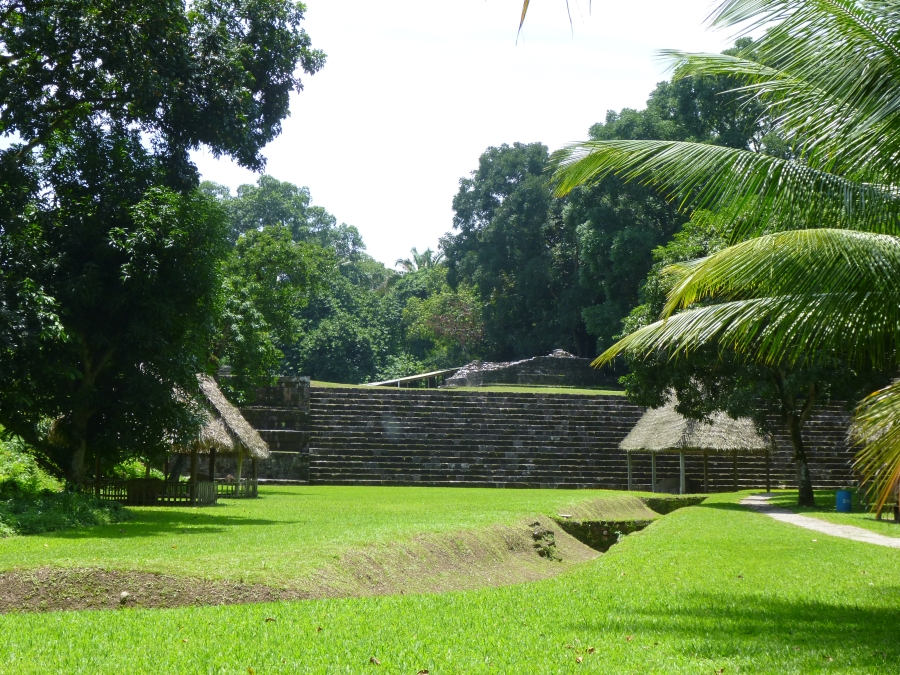 Quirigia Ruin - Few Mayan Buildings Left