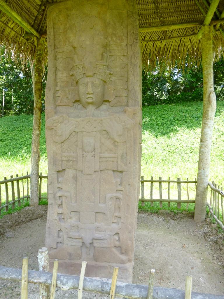 Stelae C - Quirigia Site