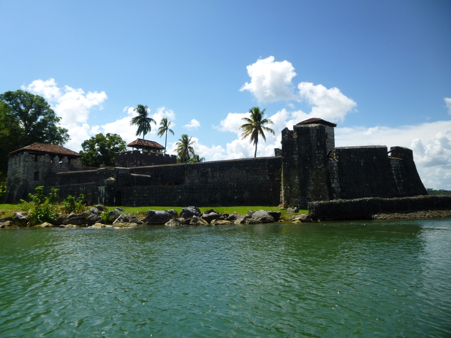Spanish Fort Along Rio Dulce