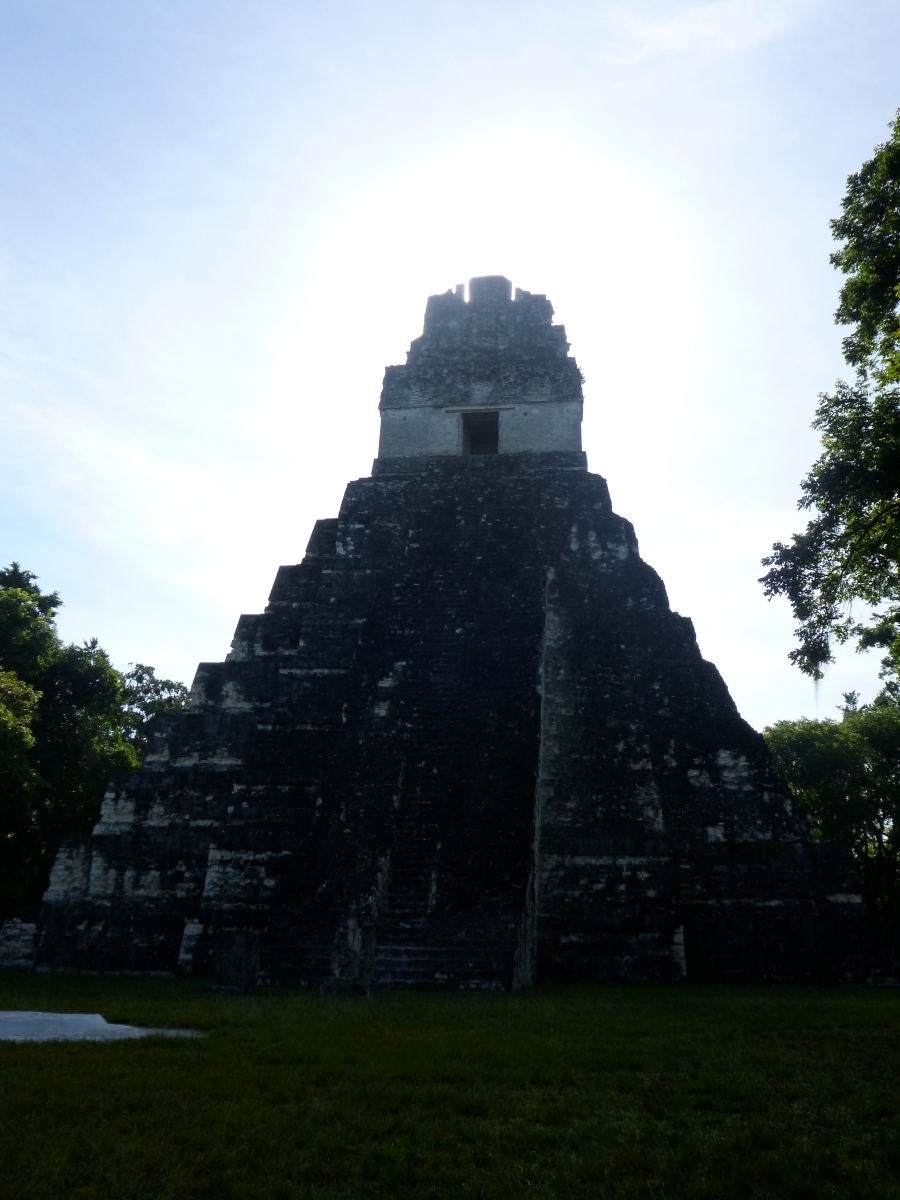 Tikal Temple 1 - Temple of the Great Jaguar - In The Middle of the Hot Afternoon