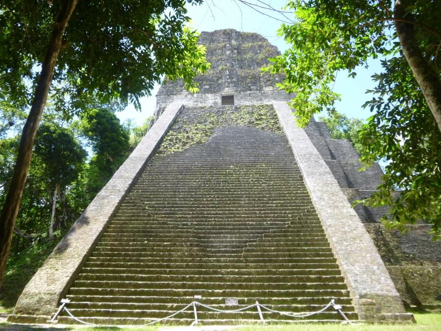Tikal Temple V - Super Steep! (Climbing Prohibited)
