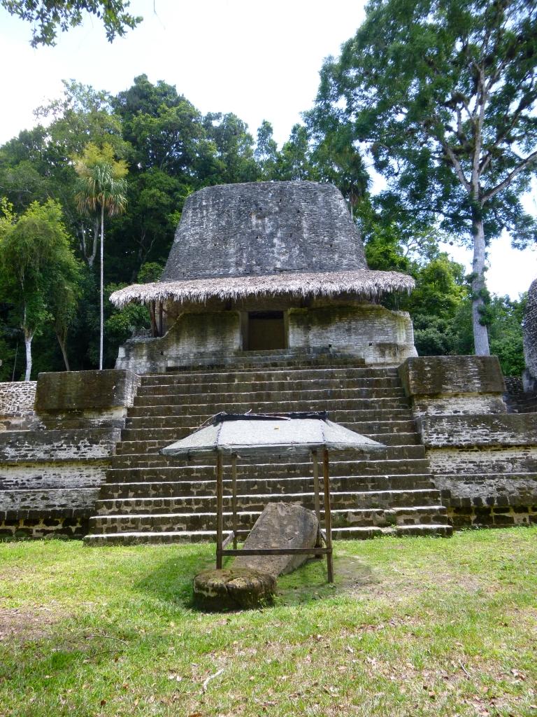 Another Part of Siete Templos Complex in Tikal (Work in Progress)