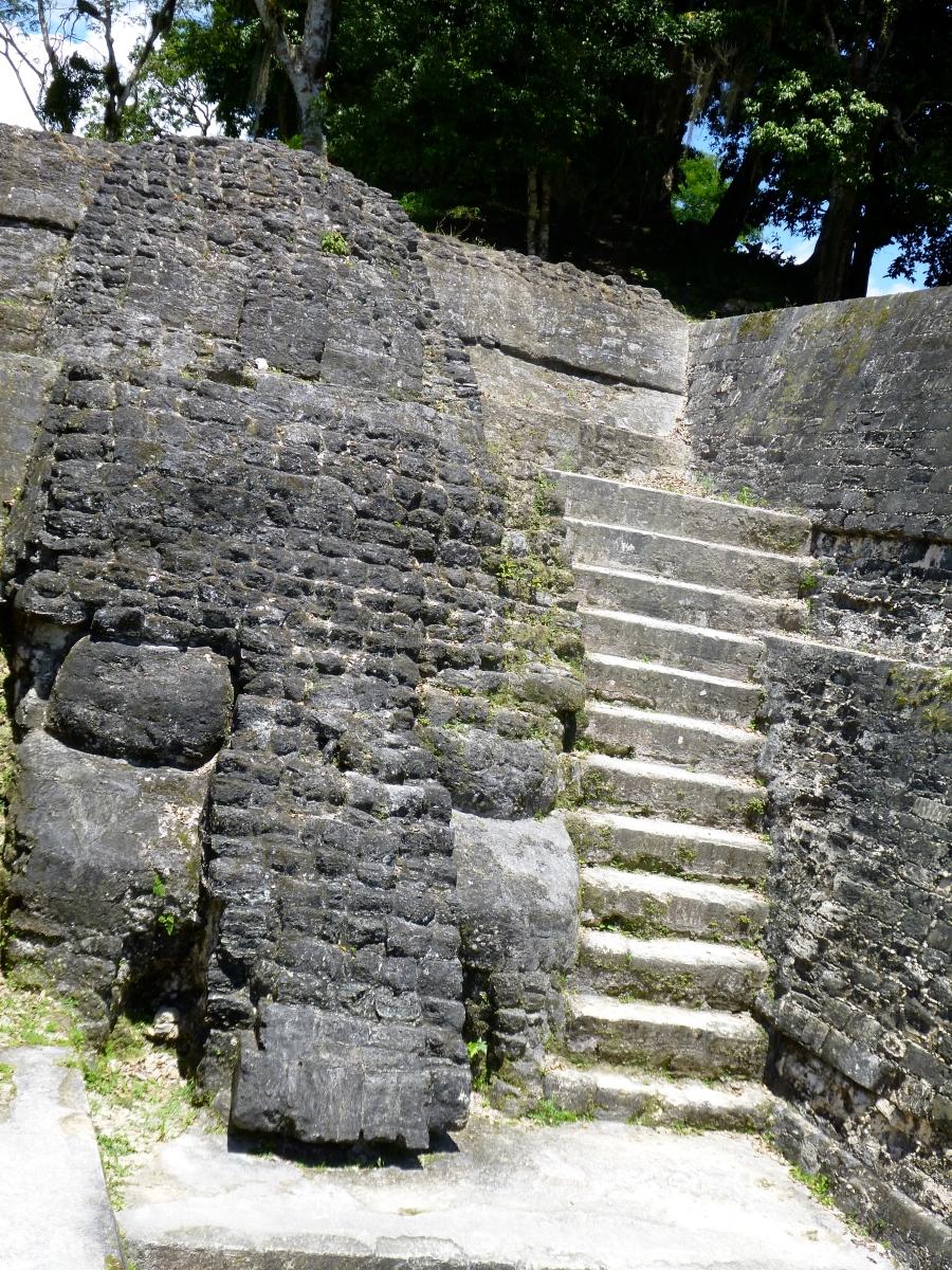Eternal Resident at Tikal Gran Plaza: Chaac - Rain God of the Mayans