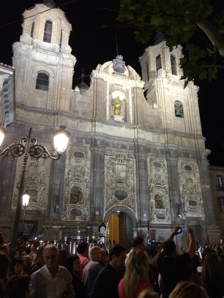 Santa Isabel Church Where Processions Start and End - Next to My Hotel Catalonia El Pilar