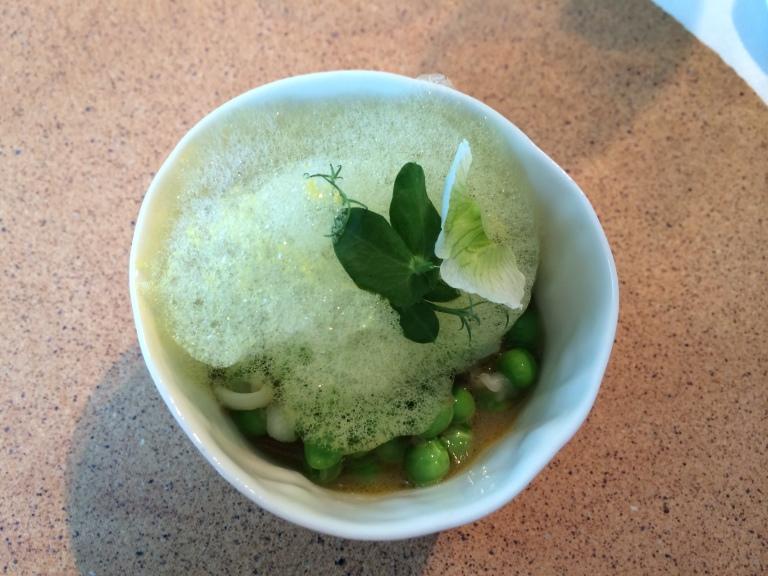 Green Peas / Guisantes @ Dos Cielos By Hermanos Torres