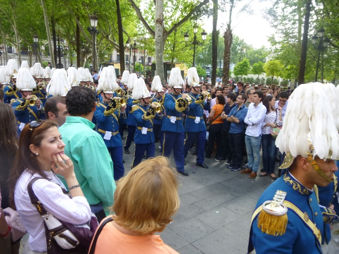 El Cerro del Aguila Procession on Martes Santo (In Order of Appearance)
