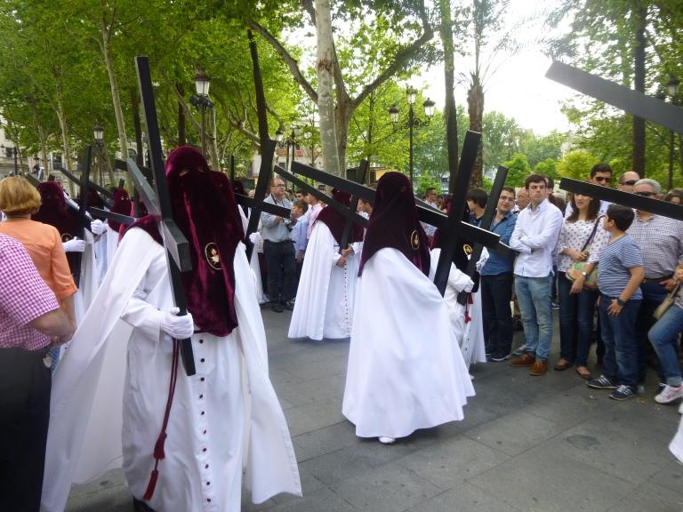 El Cerro del Aguila Procession on Martes Santo (In Order of Appearance)
