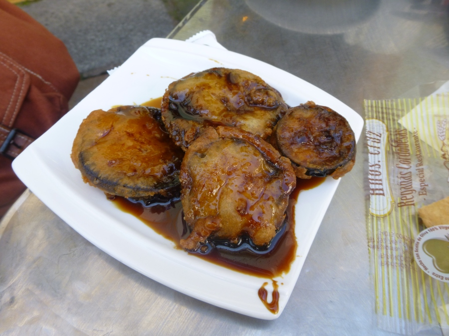Eggplant with Molasses in Cordoba