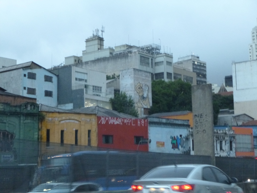 Chinese Area of Sao Paolo - OTW from Airport To Paulista
