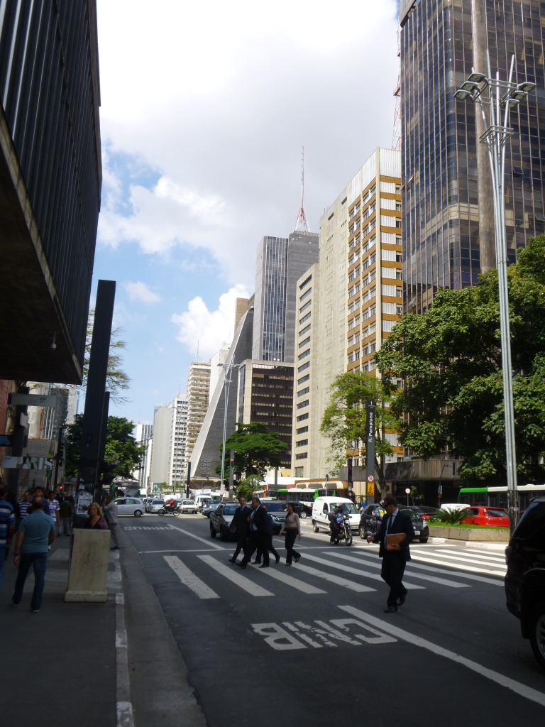 Old Buildings on Paulista