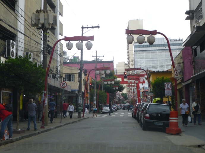 Sao Paulo's Japanese Town