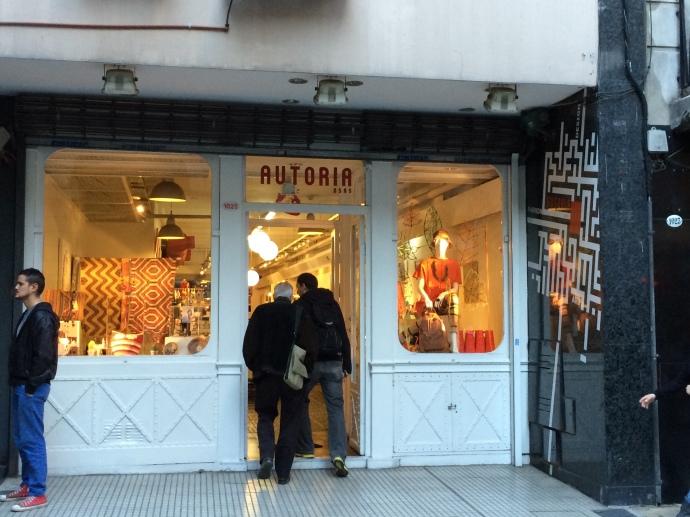 """Tienda """"De Autor"""" on Suipacha Road, Buenos Aires"""