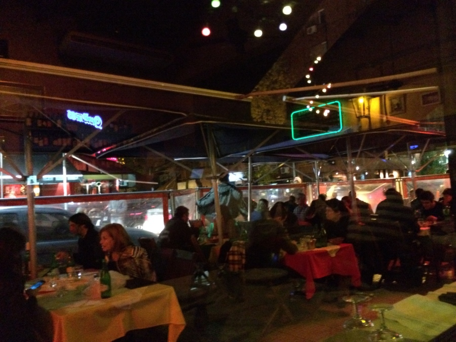 Noisy, lively, very local ambience at El Primo