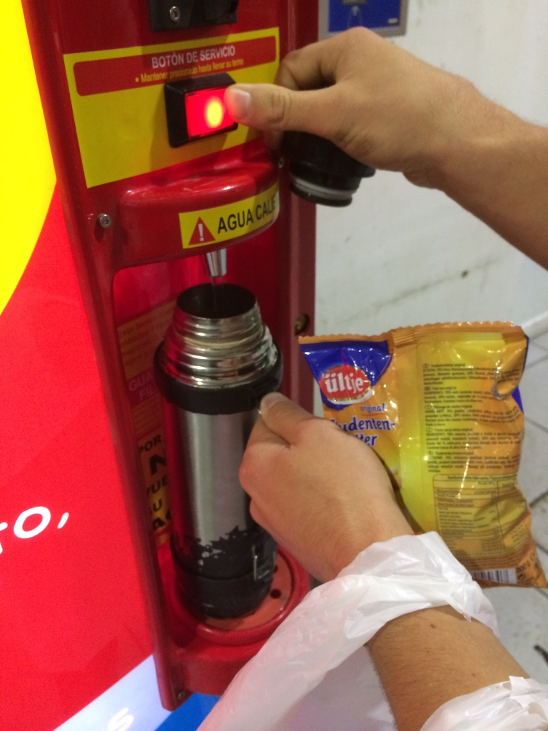Mate Amigo (Mate Friend) - Hot Water Machine To Prepare Our Mate For The Road
