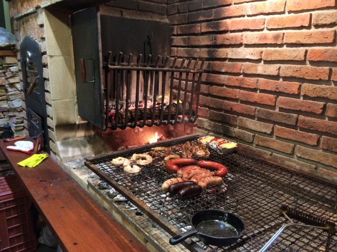 Best Asado!  With Awesome Company!