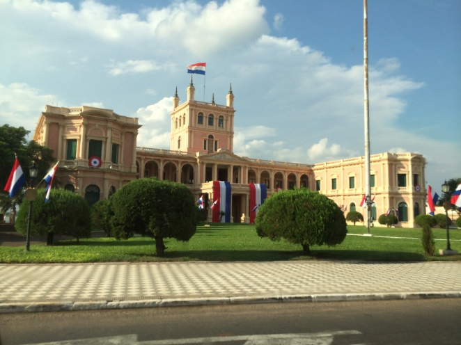Government's Palace in Asuncion