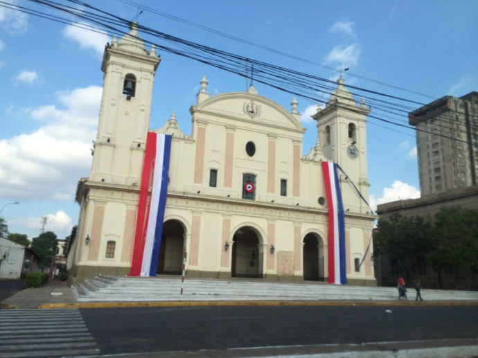 Cathedral in Asuncion