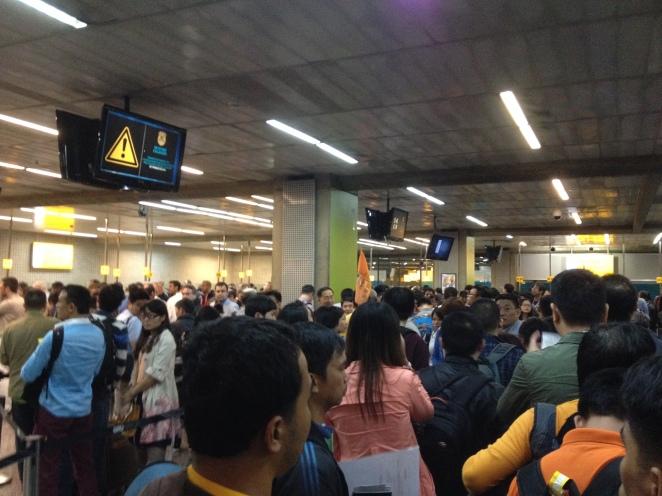 Horrid Immigration Line at Guarulhos Airport
