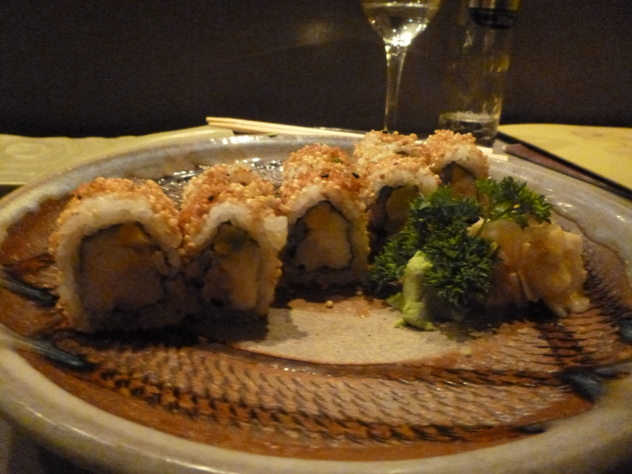 Sushi Roll With Quinoa and Avocado - Japanese and Peruvian Influence
