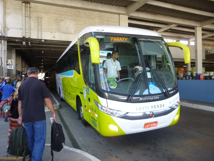 Costa Verde Bus - Our Ride to Paraty