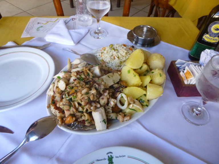 Our Massive Lunch For Two That Can Feed Four at Galeria