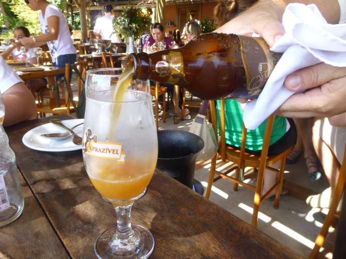 Exclusively Brewed Beer At Aprazivel Restaurant