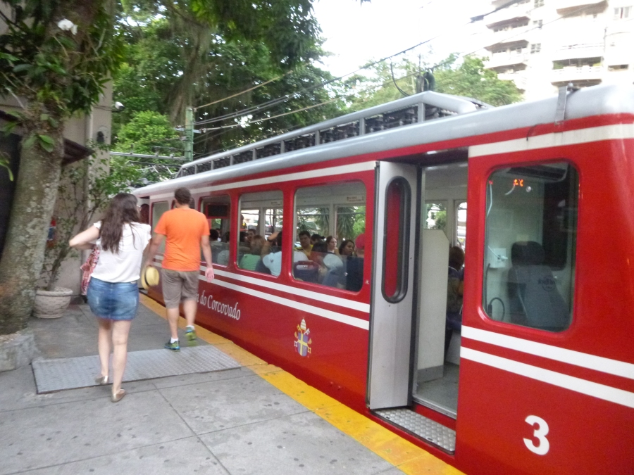 Corcovado Train To See Jesus the Redeemer Statue