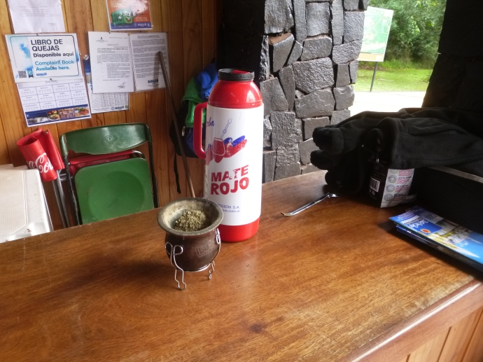 Mate and Thermos To Last The Long Day At Iguassu Park Entrance, Argentina