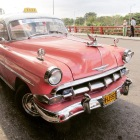 My 1950s  Chevy Taxi to Habana Airport