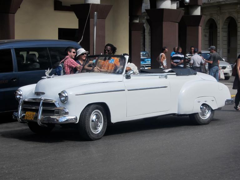 Antique 1950 Car!