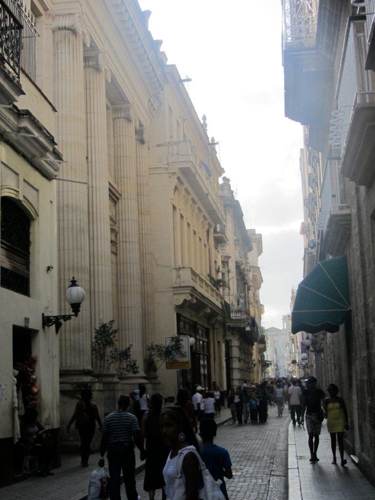 One of the Pedestrian Streets in Old Havana, Where I Got Followed and Accosted by a Harmless Cubano