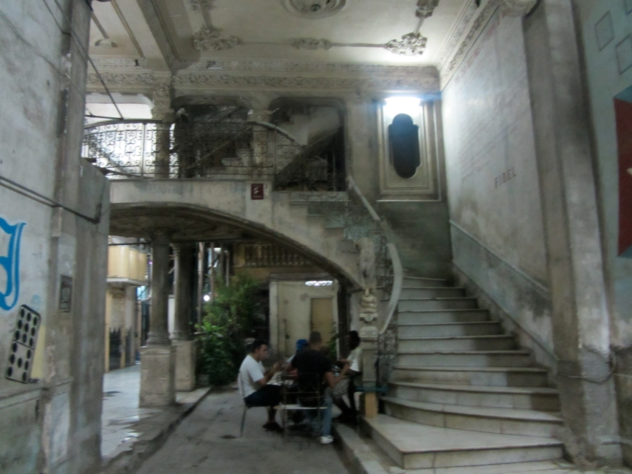 This Building May Have Seen Better Days, But It Hides One of Havana's Gem: La Guarida Restaurant (Visited by Queen Sofia of Spain and Other Celebs)