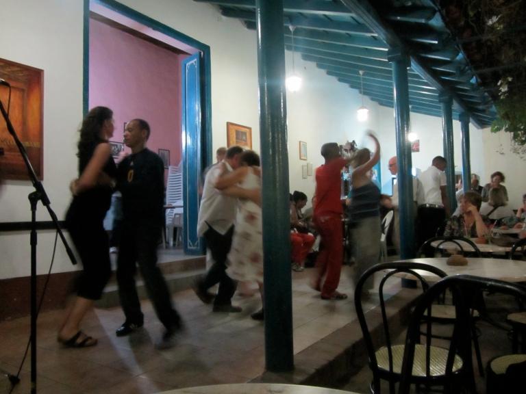 Salsa Dancing in Trinidad