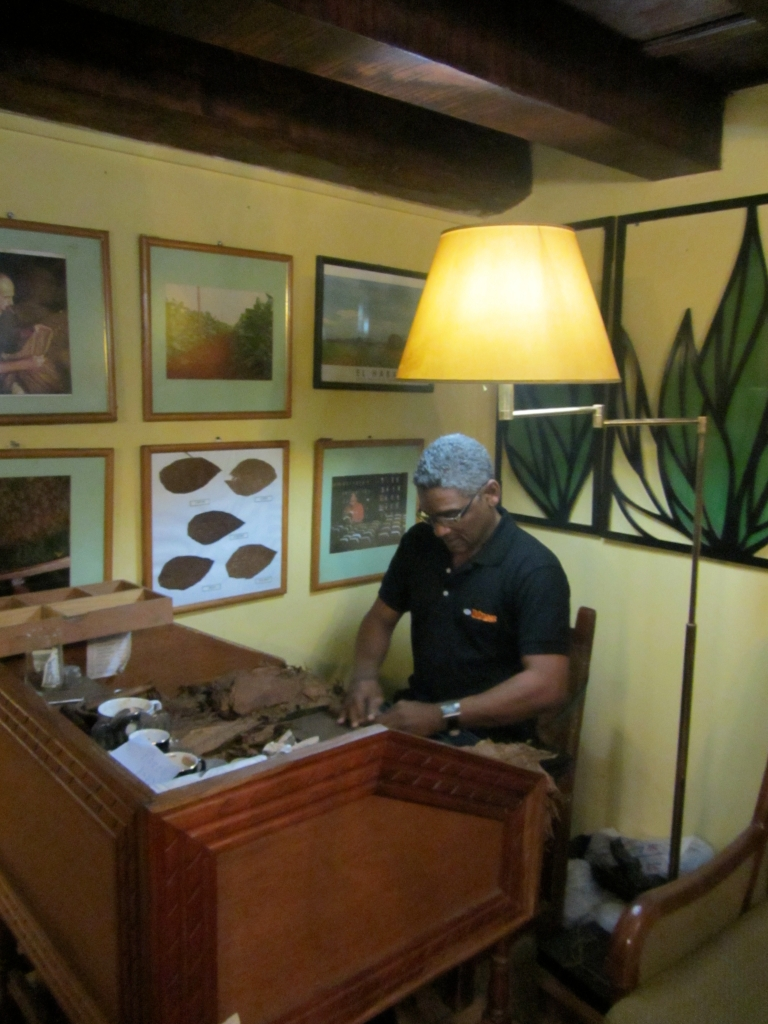 A Cigar Roller In Havana