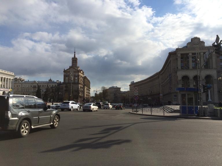 Kreschatyk Boulevard - Main Shopping Stretch
