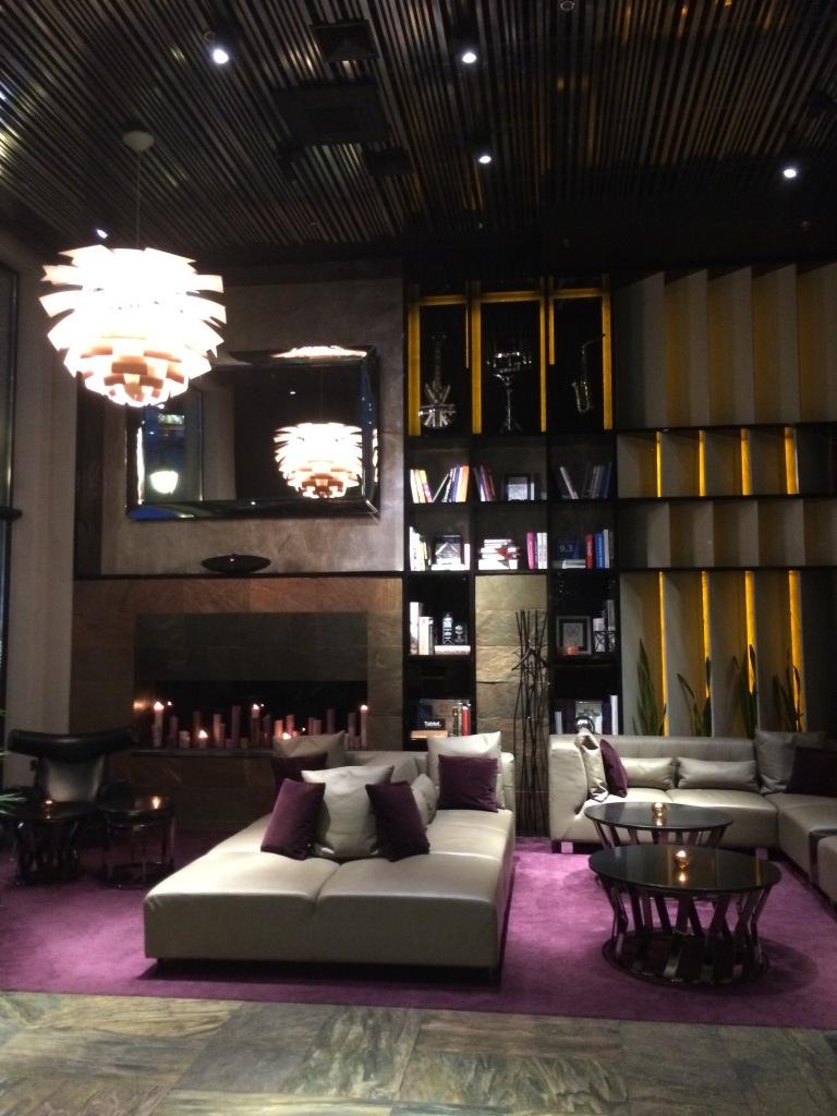 Lobby of 11 Mirrors Hotel