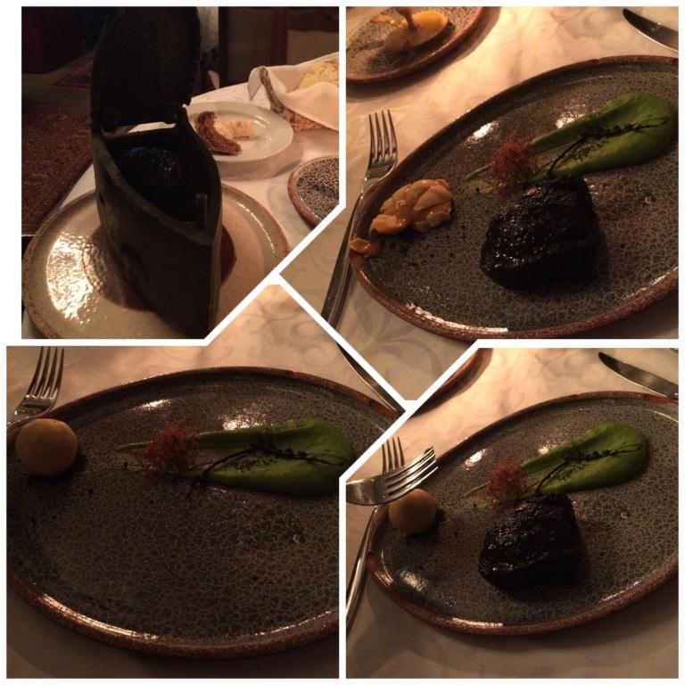 My set meal at Kanapa (Beef Dish)
