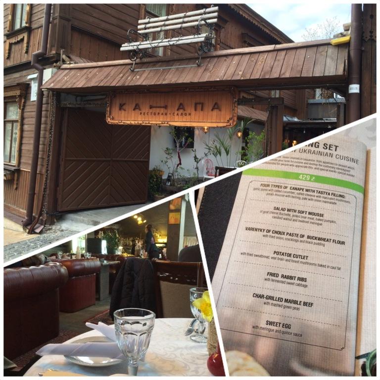 Kanapa Restaurant - Rustic and Unique