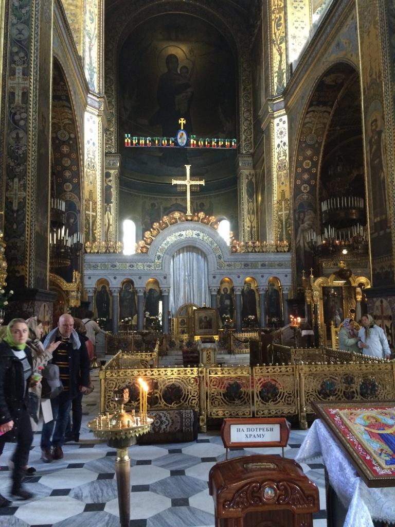 Central Nave of St. Vladimir's Church, Kiev, Ukraine
