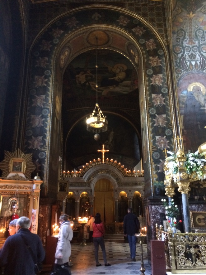 Central Nave of St. Vladimir's Cathedral (Paying 50 HYR gives one opportunities to take pictures inside).