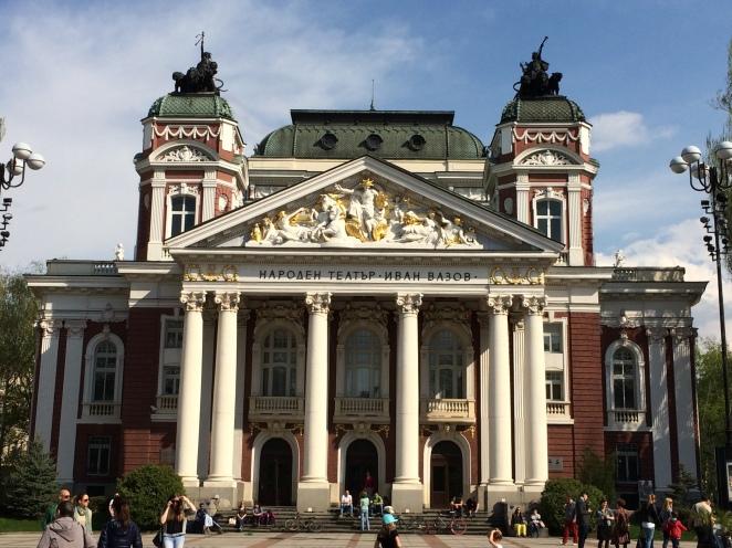National Opera House, Sofia, Bulgaria